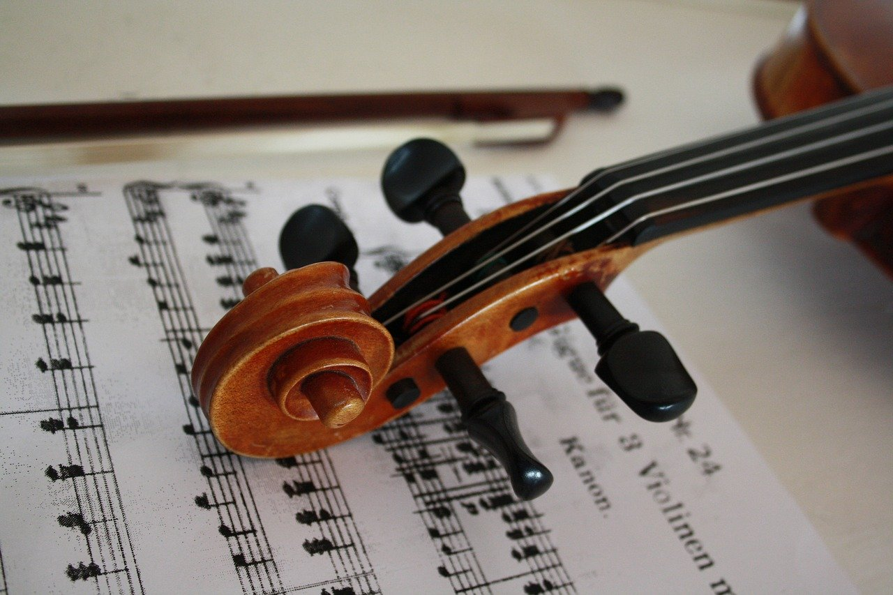 violin, stringed instrument, music