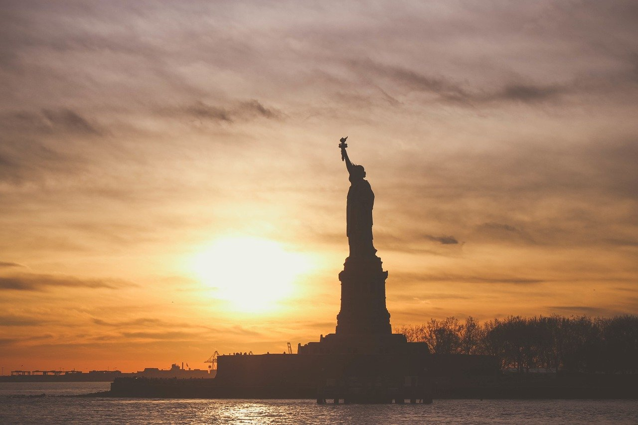 statue of liberty, landmark, liberty