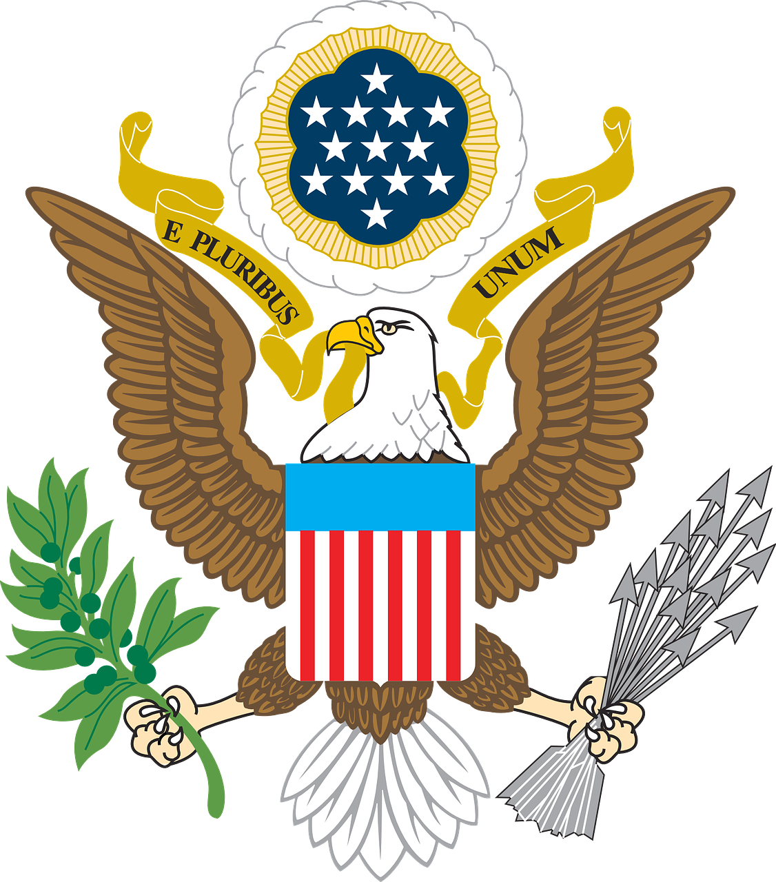 seal, usa, eagle