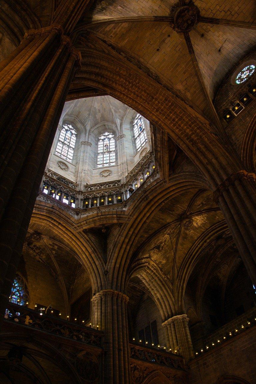 church, gothic, dom